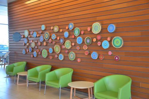 Art & Wall Decor by Open Eye Art seen at Legacy Mount Hood Medical Center, Gresham - Legacy Mount Hood Donor Wall
