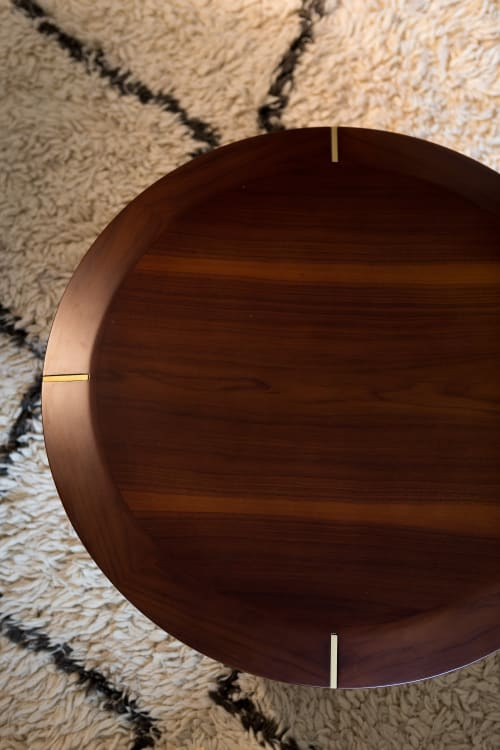 Tables by Marie Burgos Design seen at Private Residence, Los Angeles - Diamond Table Small