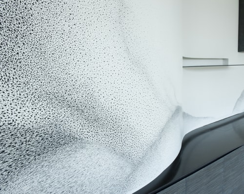 Murals by Alix Waline seen at Private Residence, Paris - Residential Wall Mural - Paris