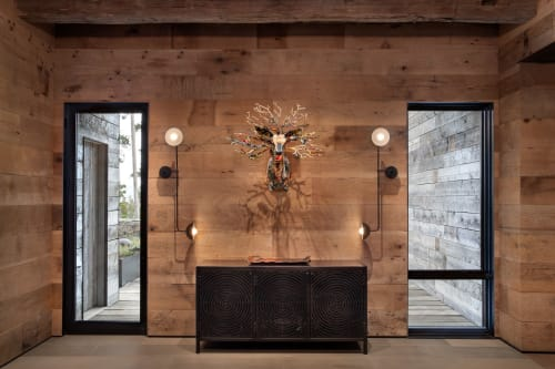 Sconces by Lambert et Fils seen at Private Residence, Big Sky, Big Sky - Sconces