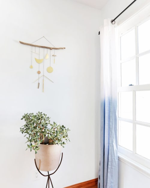 Wall Hangings by Electric Sun Creatives by Sarah Perez seen at Private Residence, Los Angeles - Lucent