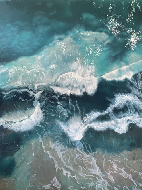 Paintings by Amanda Szopinski seen at Private Residence, Seattle - PULSE