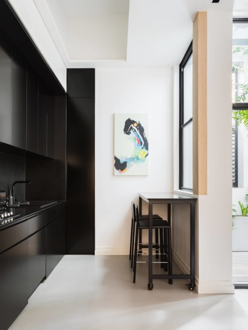 Art Curation by Michelle Perry Fine Arts seen at Private Residence, Darlinghurst - Contemporary apartment