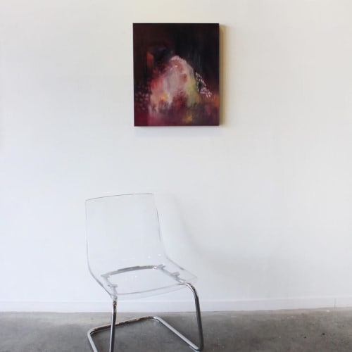 Paintings by Margaret Brown seen at The Red Arrow Gallery, Nashville - Closer # 1