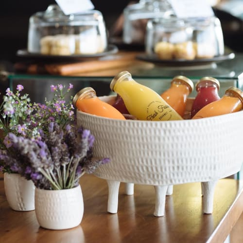 Tableware by Anna Bowie Ceramics seen at Estabar, Newcastle - Ice Bucket ceramics