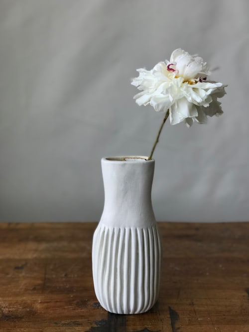 Art & Wall Decor by Cym Warkov Ceramics seen at Private Residence, Minneapolis - Series 03 Neck Vase