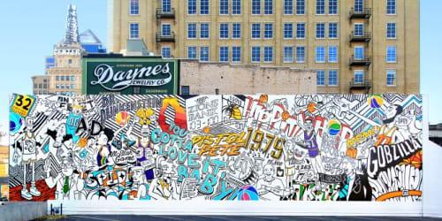 Trent Call - Art and Street Murals