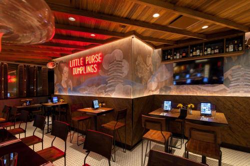 Little Purse Restaurant | Murals by Indiewalls | Design With Art