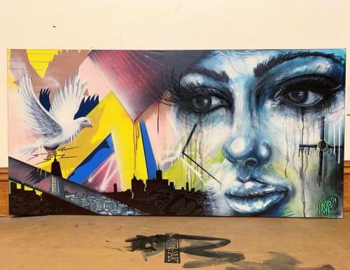 Scottie Drippin' - Murals and Street Murals