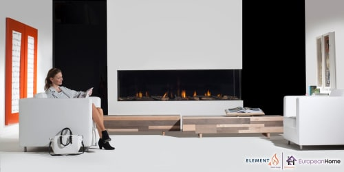 Architecture by European Home seen at 30 Log Bridge Rd, Middleton - Bidore 240H Corner Style Gas Fireplace