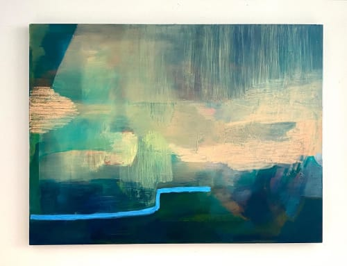 Paintings by Margaret Brown seen at Creator's Studio, Nashville - Birdhouse # 10