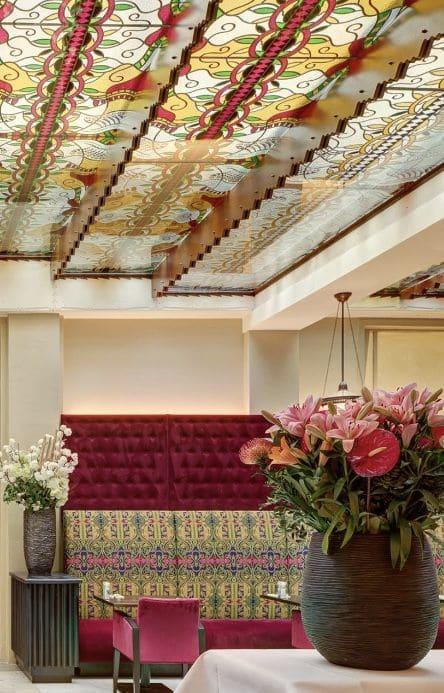 Interior Design by New Citizen Design seen at Grand Hotel Amrâth Amsterdam, Amsterdam - Christie's Fabric