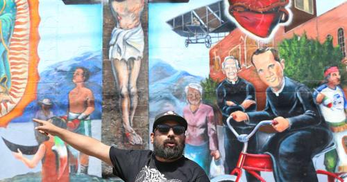 """Jesus """"CIMI"""" Alvarado - Murals and Street Murals"""