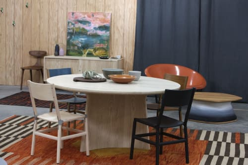 Chairs by Fyrn seen at Bay Area Made x Wescover 2019 Design Showcase, Alameda - Mariposa Standard Chairs