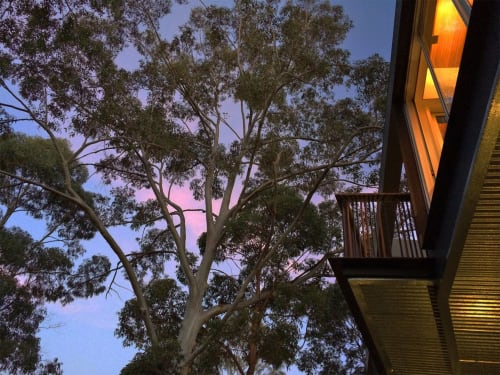Architecture by CplusC Architectural Workshop seen at Private Residence, Castlecrag - Sky Space