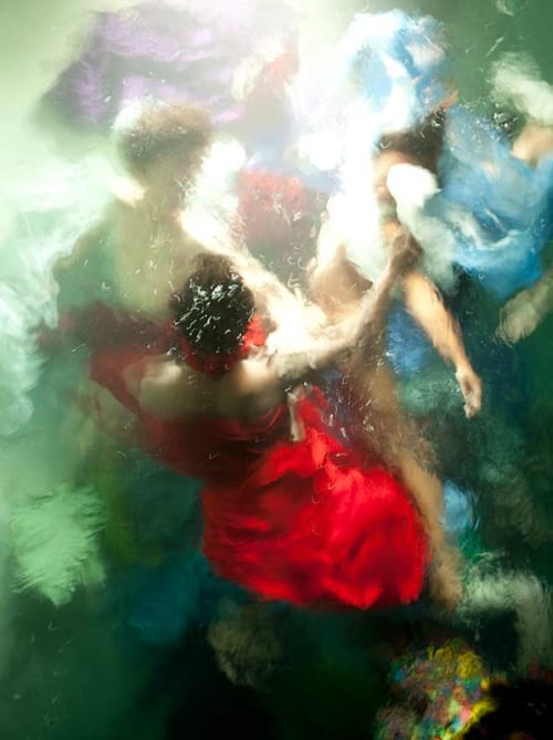 """Photography by Christy Lee Rogers at Private Residence - """"Reckless Unbound"""" Underwater Photograph"""