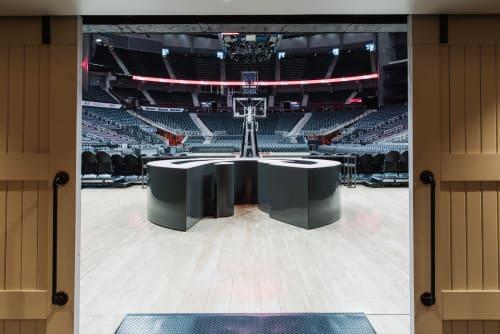 State Farm Arena, Public Service Centers, Interior Design