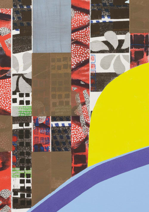 Paintings by Anuli Croon seen at Dubai, Dubai - Tronie & City IV, 180x150cm, 2013