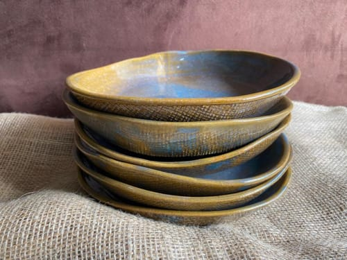 Ceramic Plates by Sayaka Ogawa Ceramics seen at Private Residence - Ceramic bowl