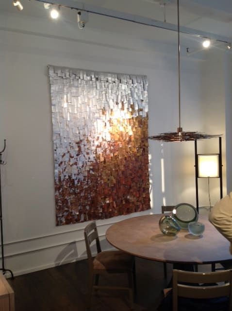 Paintings by Paolo Campagnolo seen at Private Residence, New York - arazzi