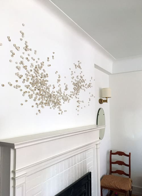 Sculptures by Christina Watka at Private Residence, Manhattan, New York - Murmuration XX: John's Horse