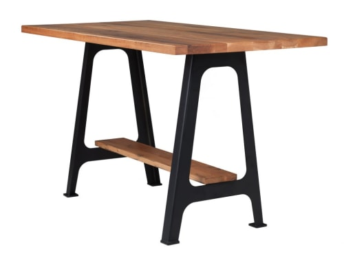 Tables by Crow Works seen at Worldwide Express, Chicago - M1 Machine Table