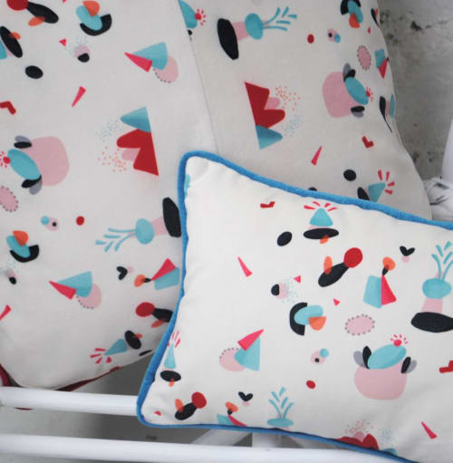 Beds & Accessories by Super Illustrator seen at Private Residence, Paris - Coussin Cousine