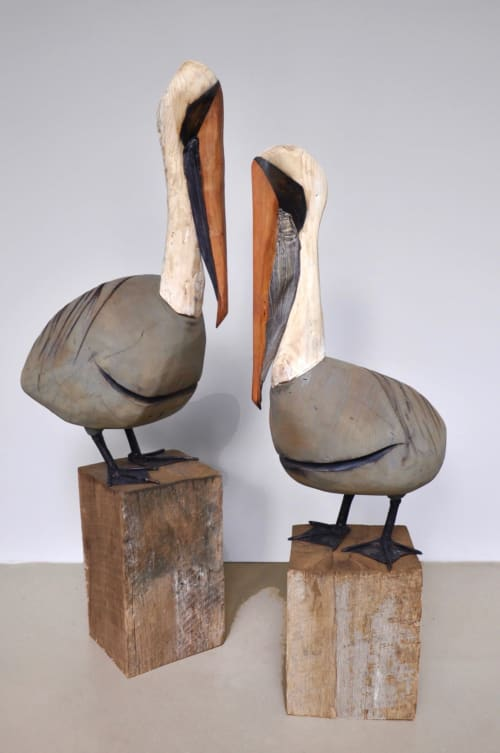 Sculptures by C. Condon seen at Private Residence, Atlanta - Fish Eaters