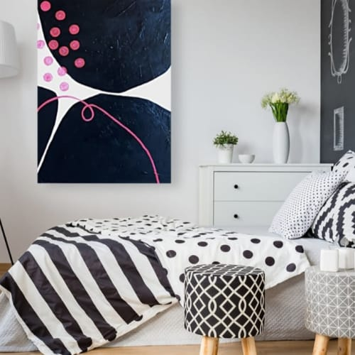 Paintings by Rhonda Davies Art seen at Private Residence, Melbourne - Going Dotty