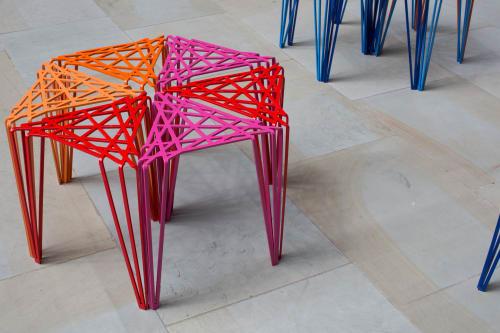 Interior Design by Studio Swine seen at Saint James's Market, London - Loom Chair for St James's Market