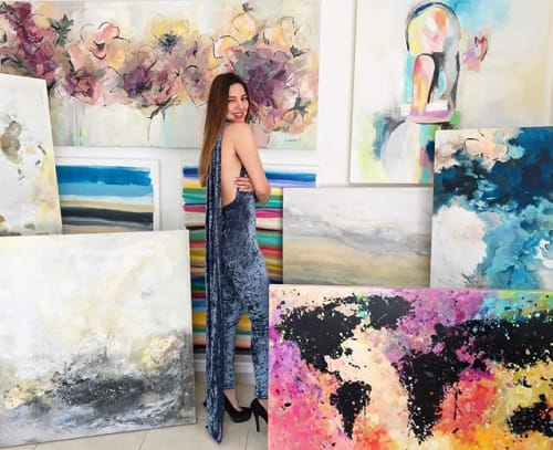 Nadia Garza - Paintings and Art