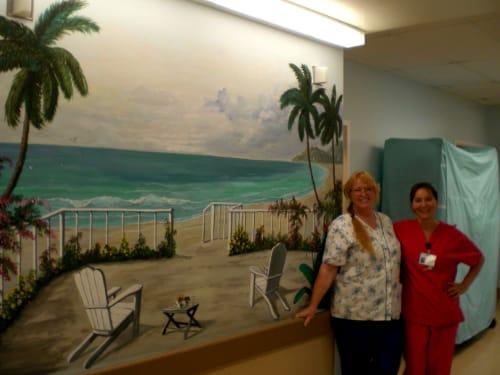 Murals by Judy Wolford Deems seen at 6412 Laurel Ave, Mountain Mesa - Mt. Mesa Skilled Nursing Facility