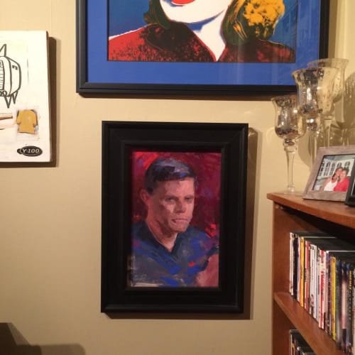 Paintings by Alain Picard seen at Private Residence, Goshen - Painting