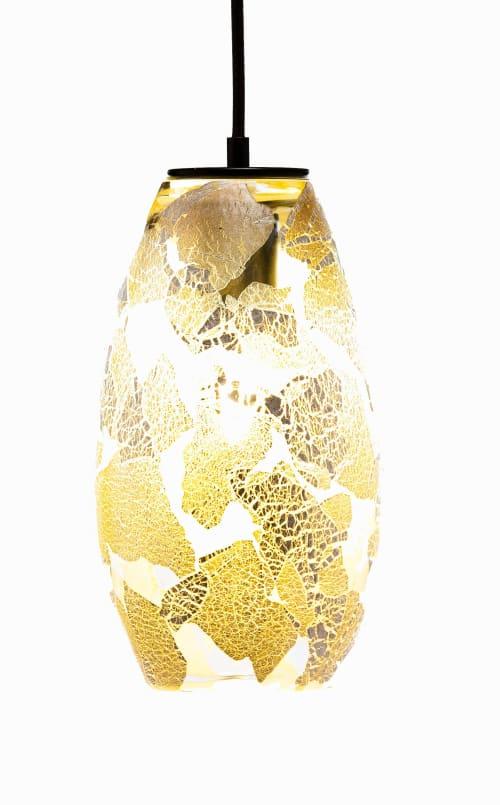 ELETTRA · Silver Leaf Overlay $950 by Lumi Design