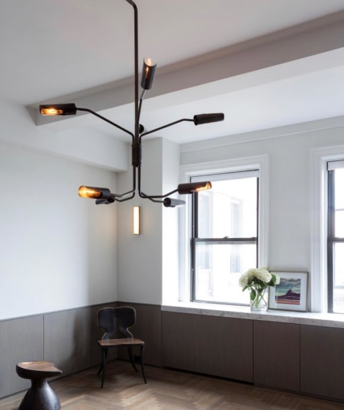 Pendants by Lumifer by Javier Robles seen at Private Residence, Brooklyn - SWITCH Pendant