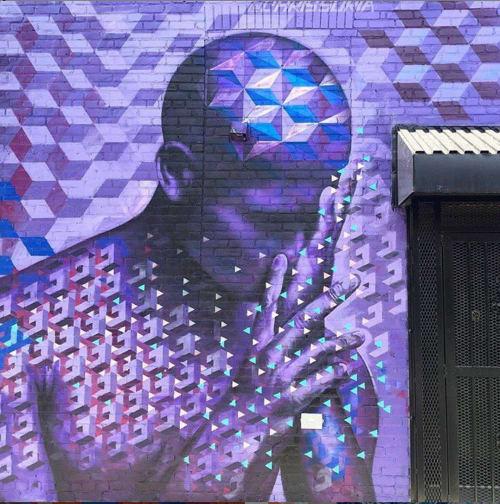 Street Murals by Chris Soria seen at Brooklyn, Brooklyn - BK Replicant