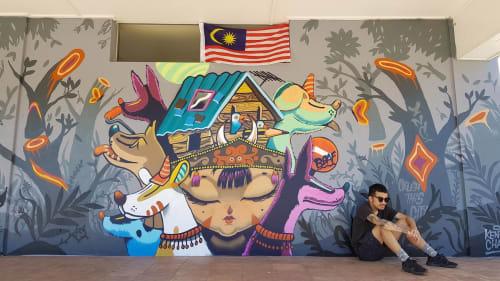 Kenji Chai - Murals and Art