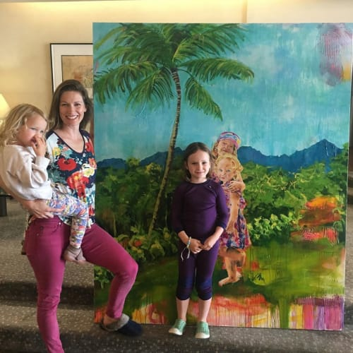 Paintings by Tachina Rudman-Young seen at Private Residence, San Francisco - Children's Portrait