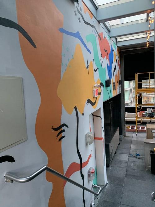 Murals by Sarah Lillz seen at Selina Chelsea New York City, New York - Selina Hotel Mural