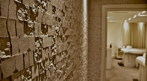 Tiles by Giovanni Barbieri seen at Hotel Bristol, a Luxury Collection Hotel, Warsaw, Warszawa - Solid Marble Mosaic