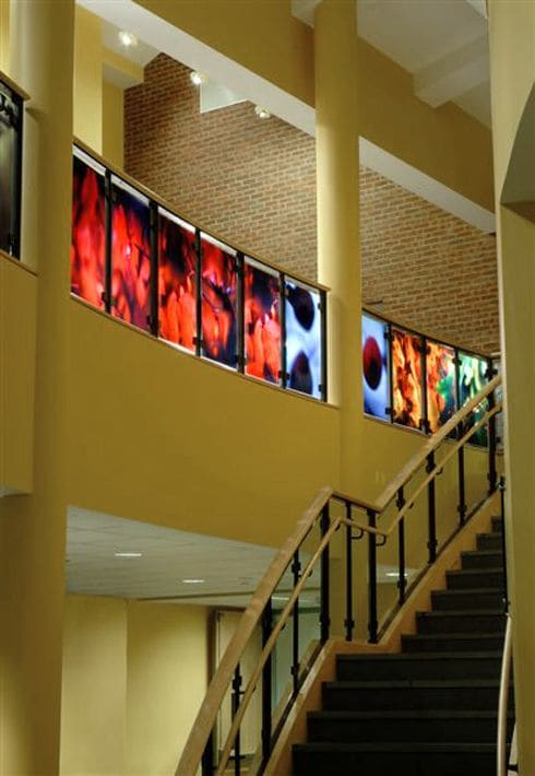 """Architecture by Jo Yarrington seen at Quinebaug Valley Community College, Killingly - """"Perambulations, 2007"""""""