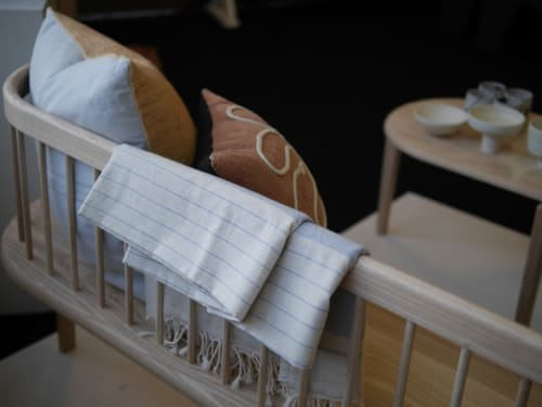 Linens & Bedding by Wayfarer seen at Wescover Gallery at West Coast Craft SF 2019, San Francisco - Linen Throw