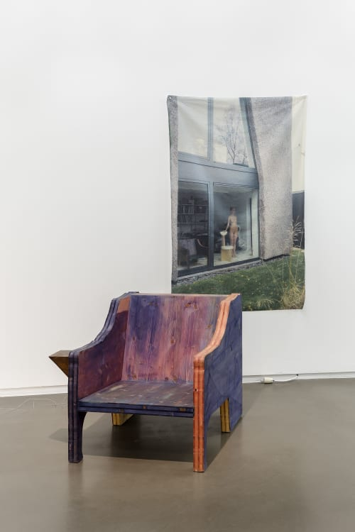 Interior Design by Ker-Xavier seen at The Impermanent Collection, Bruxelles - large armchair