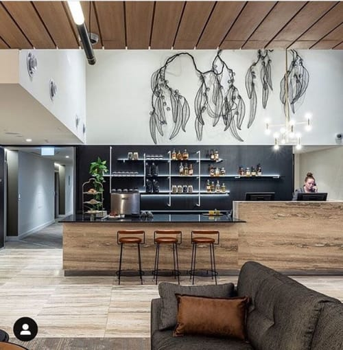 Interior Design by emma davies seen at Rouse Hill, Rouse Hill - Woollybut Tree installation