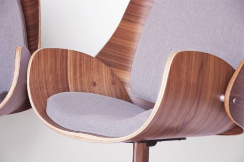 Chairs by q|co design seen at Private Residence, Boulder - You Lounge Chair