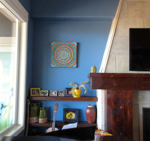 Paintings by Sonja Gartner seen at Private Residence, Kelowna - In the Beginning