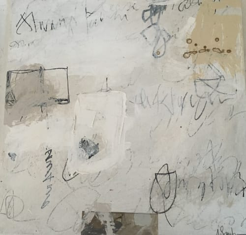 Paintings by Adele Sypesteyn seen at Private Residence, Seattle - Letter To Myself