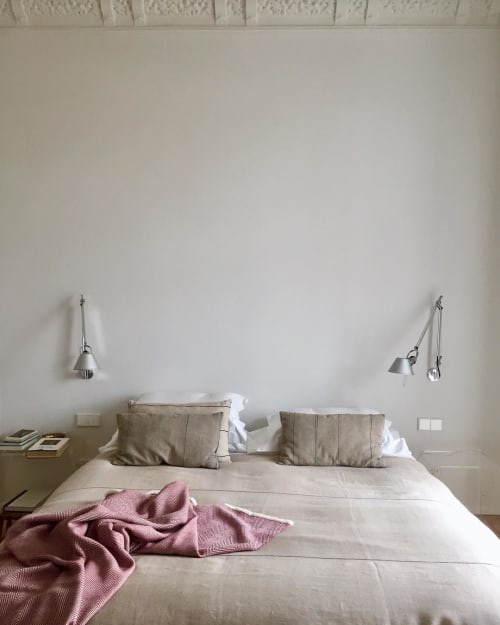 Linens & Bedding by ÁBBATTE seen at Private Residence, Madrid - Handmade Blankets