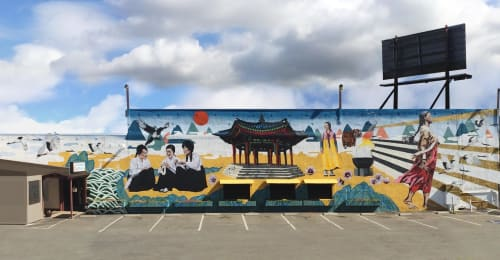 Dave Young Kim - Murals and Paintings