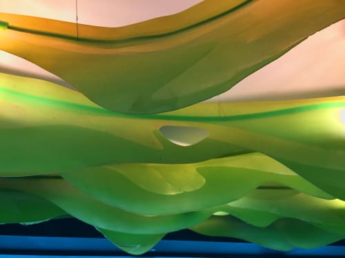 Chandeliers by JAN FLOOK seen at MACq 01 Hotel, Hobart - Pacific Kelp